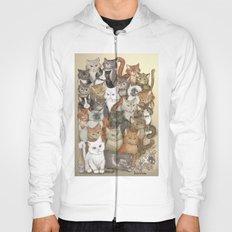 1000 cats Hoody