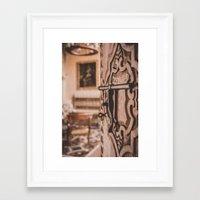 doors Framed Art Prints featuring Doors by Gunjan Marwah