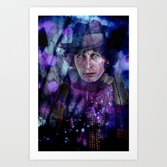 The Fourth Doctor Art Print