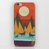 wolves iPhone & iPod Skins featuring Wolves by Kakel