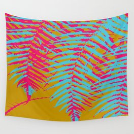 colorful tropics Wall Tapestry