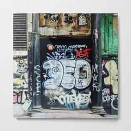 Graffiti NYC Metal Print