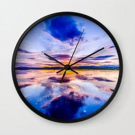 Newburgh Sunset Wall Clock