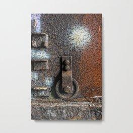 Rust To Dust Metal Print