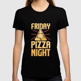 Italian Fast Food LoverFriday Is Pizza Night T-shirt