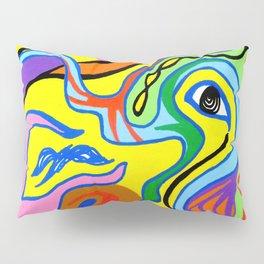 Abstract Tucanoblues Pillow Sham
