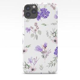 Violet pattern IIIl iPhone Case