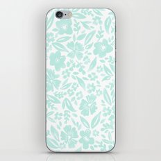 Stamp Floral Pattern iPhone & iPod Skin