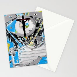 For God So Loved the World...Biker Ministry. Stationery Cards