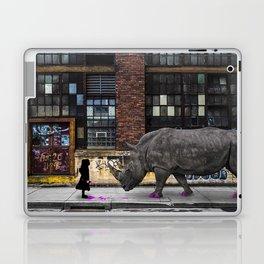 Real Rhinos Wear Pink Laptop & iPad Skin
