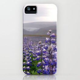 Lupins. iPhone Case
