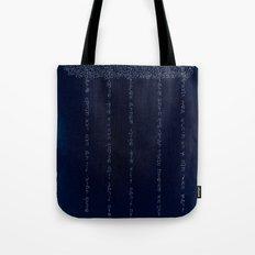 Cloud in Blue Tote Bag