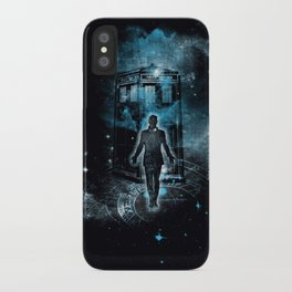 Time Traveller iPhone Case