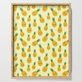 Pineapples Serving Tray