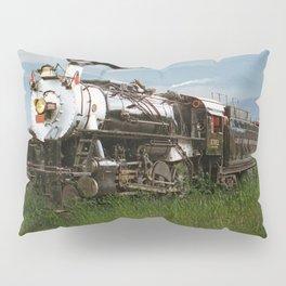 Smokey Mountain Railway Steam Locomotive Pillow Sham