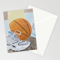 Basketball Shoes Stationery Cards