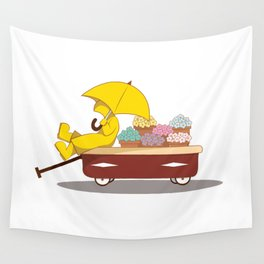 Spring Showers Wall Tapestry