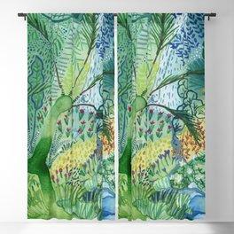 Serene Boheme Watercolor Blackout Curtain