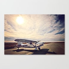 Waiting on Sunset Canvas Print
