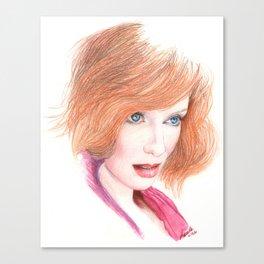 mad joan... Canvas Print