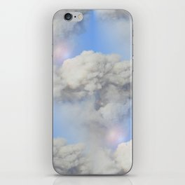 Coming out of the smoke iPhone Skin