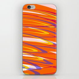 Colourful Tornado Twister Abstract Design iPhone Skin