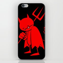 minima - sad devil iPhone Skin