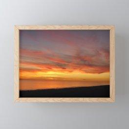 Destin Sunset Framed Mini Art Print