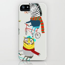 Hipster Animals iPhone Case
