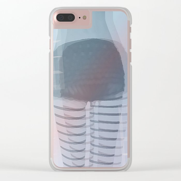 Abstract 131 Clear iPhone Case