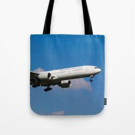Air New Zealand Boeing 777 Tote Bag