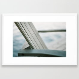 chaise Framed Art Print