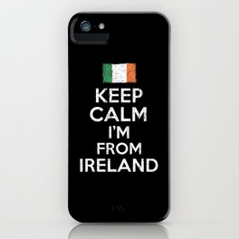 Keep Calm Irish iPhone Case