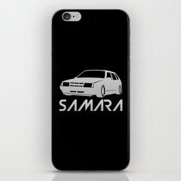 Lada Samara - silver - iPhone Skin