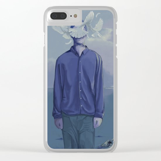 Go on Clear iPhone Case