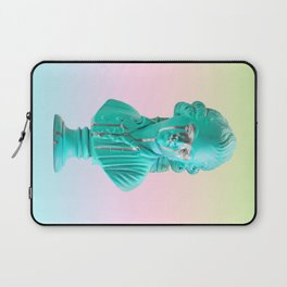 Bust of a Weeping Man (In Ice Blue Gradient) Laptop Sleeve