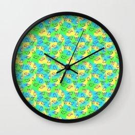 Cockatiels! Wall Clock
