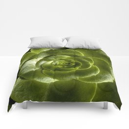 Green leave Comforters