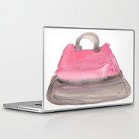 tote bag Laptop & iPad Skins featuring Tote 3 by ©valourine