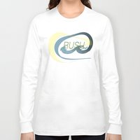 rush Long Sleeve T-shirts featuring Rush  by Sammy Cee