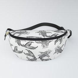 Koi Fish Pattern Fanny Pack