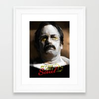 better call saul Framed Art Prints featuring Better Call Saul by JackCat