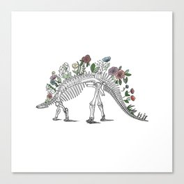 Stego-flora-saurus Canvas Print