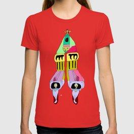 multi mecha go T-shirt
