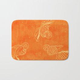 Goldfish with Pattern Bath Mat