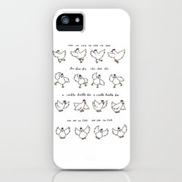 Chicken Dance iPhone Case