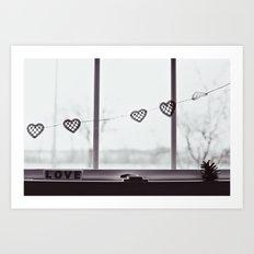 window love Art Print