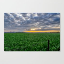 Countryside. Canvas Print