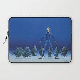 CONFRONTATION FOR YOUR EYES ONLY by Pascal Laptop Sleeve