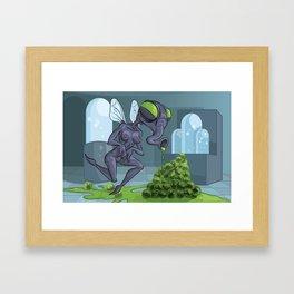 FLY MILF Framed Art Print